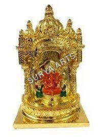 Gold Plated God Statues