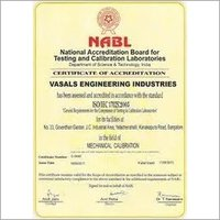 ISO 17025 Nabl Accreditation