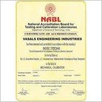 ISO 17025 Nabl Accreditation
