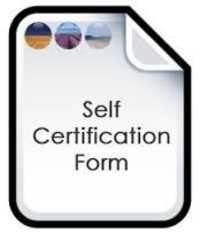 Self Certification
