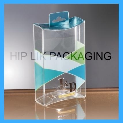 PVC Plastic Pillow Box