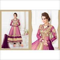 Purple Stylish Anarkali Dress