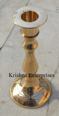Brass Decor Candle Stand