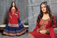 Sharara Style Anarkali Suit