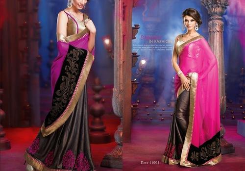 Gorgeous Pink Saree