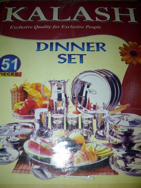 51 pic dinner set