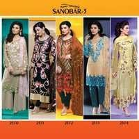 Pakistani SANOBAR-3 Salwar Kameez Suits Wholesale