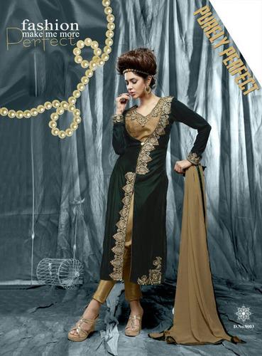 Latest Georgette Lehenga Style Suit