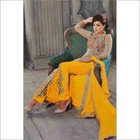 Cream & Yellow Suit