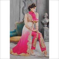 Cream & Pink Suit