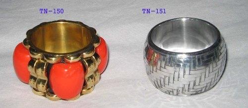 Brass Resin Napkin Rings