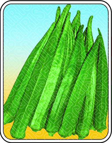 Okra (Bhendi) Seeds