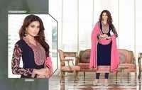 FIONA SHREE FASHION(BLUE LADY)Salwar Kameez suits