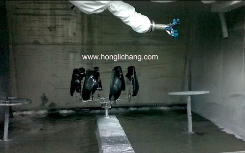 Robot Automatic Painting Line For Car Mirror