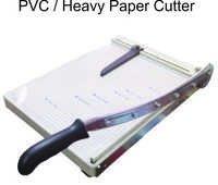 Heavy paper cutter