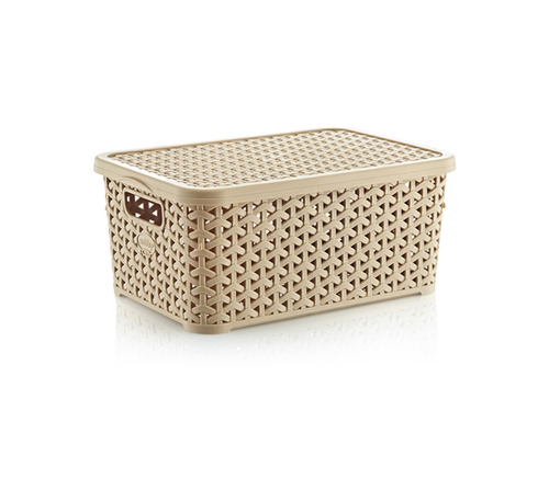 Rattan Storage Box 10 lt
