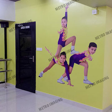 Advertising Wall Vinyl Graphics