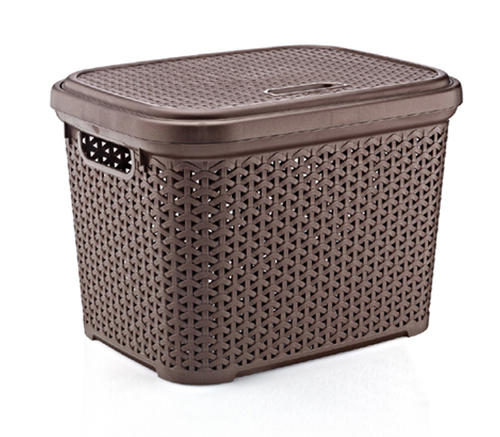 Rattan Big Storage Basket (30 lt)