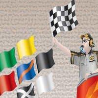 Race signal flags