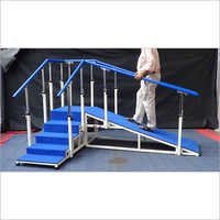 EXERCISE STAIRCASE (Corner Type with Ramp , 60cm wide )::