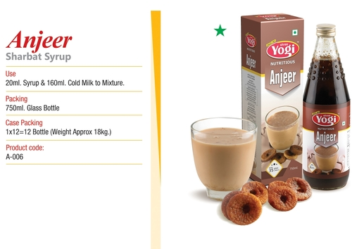 Anjeer Syrup