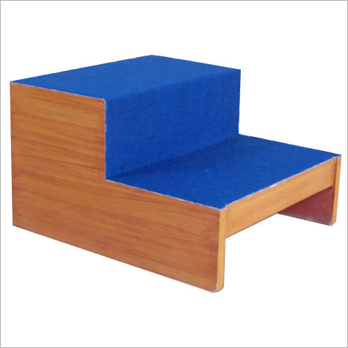 FOOT STOOL, WOODEN (Double-Step)