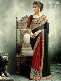 New Year Special Georgette  Saree
