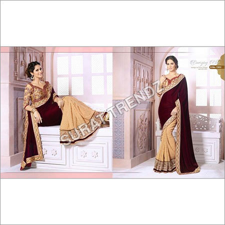 Two Colors Sarees