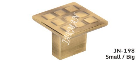 Square Golden Door Knob