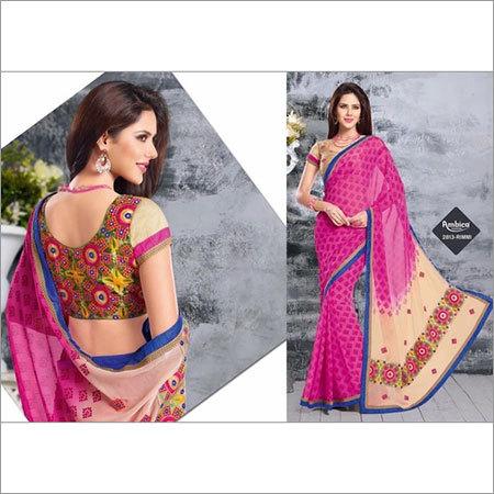 Heavy Embroided Saree