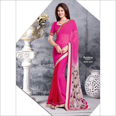 Long Party Wear Saree