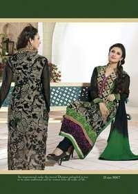 Black & Green suit