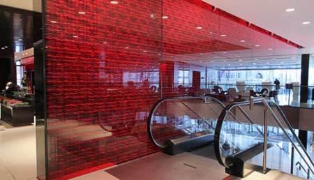 LED Wall Glass