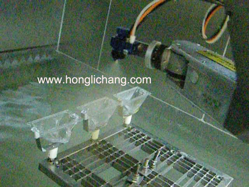Automatic UV Spray Coating Line