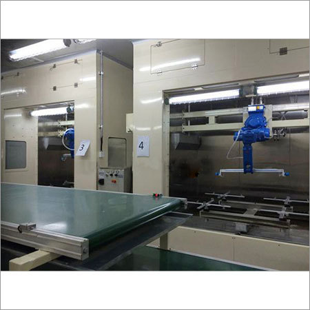 Robot Automatic Spray Painting Line