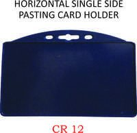 HORIZONTAL SINGLE SIDE PASTING CARD HOLDER