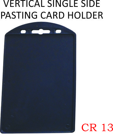 VERTICAL SINGLE SIDE PASTING CARD HOLDER