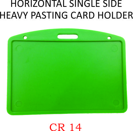 HORIZONTAL SINGLE SIDE HEAVY PASTING CARD HOLDER