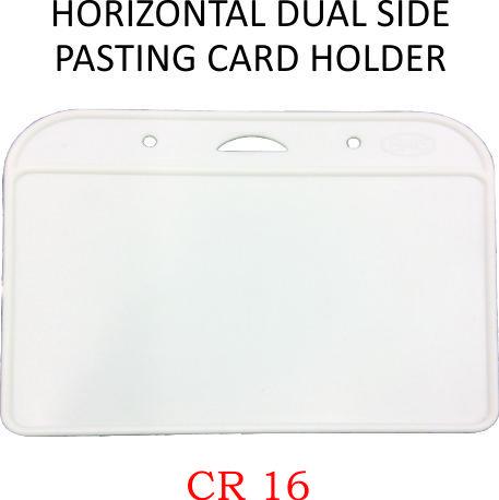 HORIZONTAL DUAL SIDE PASTING CARD HOLDER