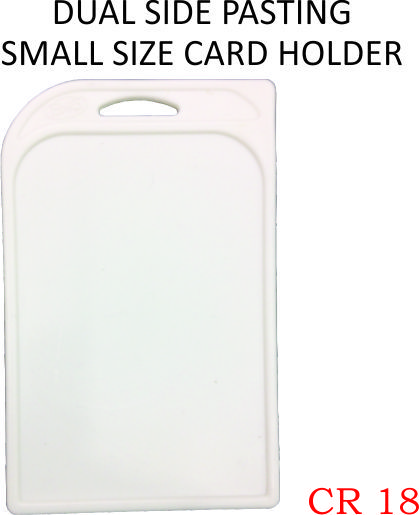 DUAL SIDE PASTING SAMLL SIZE CARD HOLDER