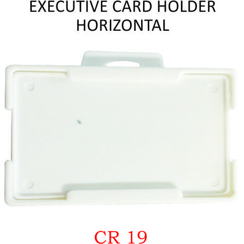 EXECUTIVE CARD HOLDER HORIZONTAL