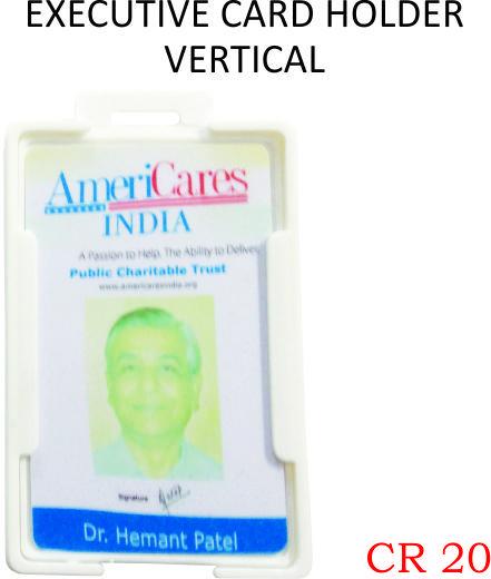 EXECUTIVE CARD HOLDER VERTICAL