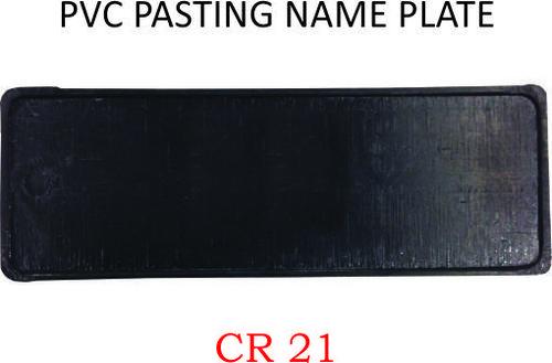 PVC PASTING NAME PLATE