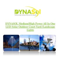 Solar Outdoor Courtyard/Landscape Lights