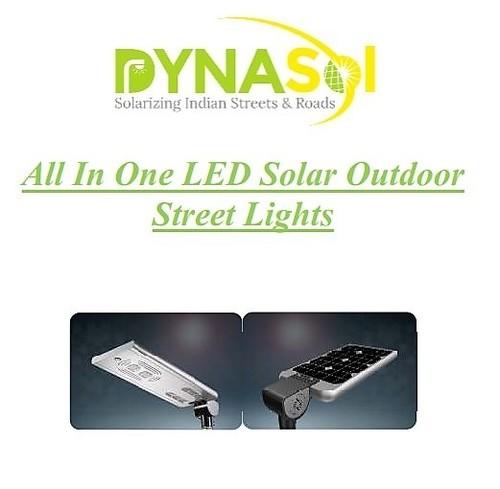 Solar Outdoor Street Lights