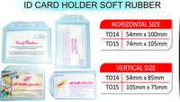 ID CARD HOLDER SOFT RUBBER