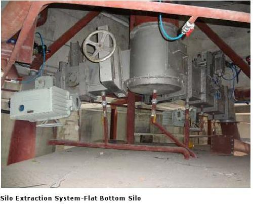 Silo Extraction System - Flat Bottom Silo