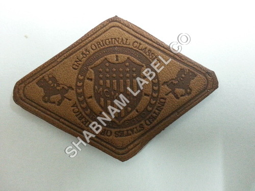 Jeans Embossed Patch