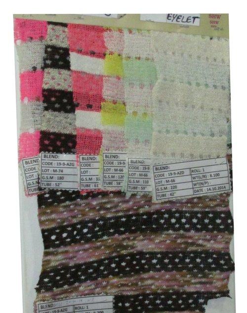eyelet knit fabric