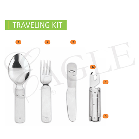 SS Travel Cutlery Set
